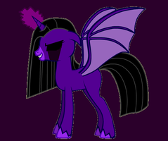 Very berry used magic to have wing by BlackCherry1994