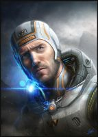 The Weyland  Yutani Files  Teilhard by ARTOFJUSTAMAN