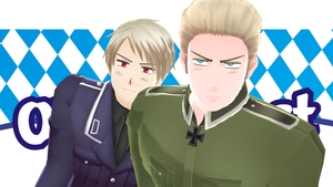 [MMD] German Brothers - DADADA [Video] by PikaBlaze