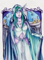 Night Elf Priestess by Ranefea