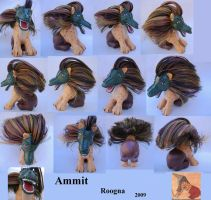 Ammit by Roogna