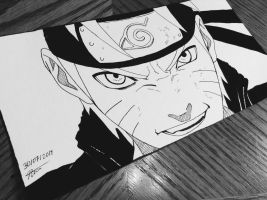 Determination - Naruto Uzumaki by artxnoa