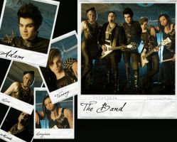 Adam's band wallpaper by GinevraTurner