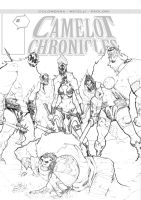 Camelot Chronicles 2 Cover Pencils by alessandromicelli