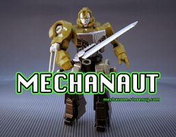 Mechanaut Solder Toy by Mecha-Zone