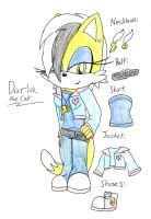 .:Contest Entry:. Darla the Cat Alternate Outfit by mlp44