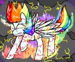 Super Rainbowdash! -Contest Entry- by galienyancats