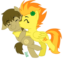 [Iron Artist] Spitfire and Chips 1/2 by VIcTobious