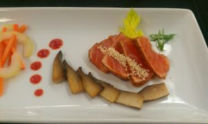 Chilli Seared Salmon Detail 1 by PrYmO-ART