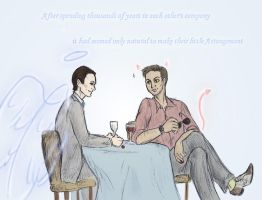 Inception - Good Omens by sparklingblue
