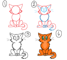 How To Draw A Cat by kittyproc