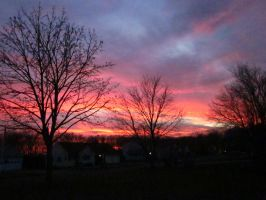 Suburbia Sunset by FiresFlame