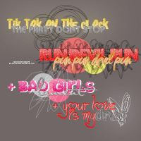 + png text Ke$Ha lyrics by ohlovatocyrus