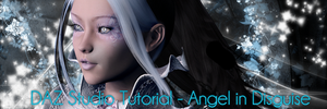 DAZ Studio 4 Tutorial - Angel in Disguise by MiyuLin-Art