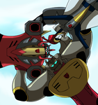 Dinobot Huddle by TheAnimatedReviewer