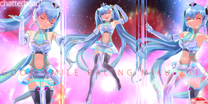 good smile racing miku 2012 by chatterHEAD
