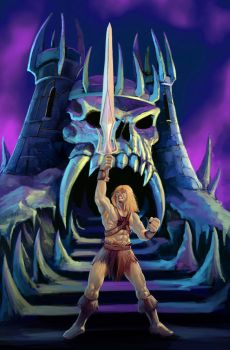 IN THE NAME OF GRAYSKULL by vkucukemre