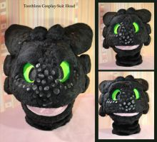 Toothless Head - Mission completed by Hobsyllwin18