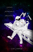 - Viking - Astronaut - Architect - by Andromeva