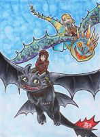 HTTYD - Race to the Edge! by SpazztasticFanGirl