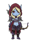 Sylvanas - HotS by pukedrawings