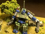 Ultra Magnus US Sherman tank WW2 by Prowlcop
