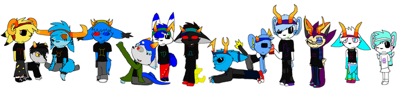 LETS ALL HOMESTUCK by Knight-Of-GamKar