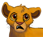 Simba Disgusted by RunningSpud