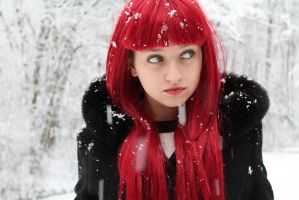 black widow snow 2 by nolightss