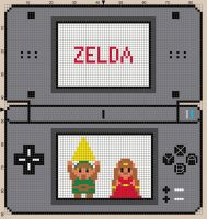 Nintendo DS Cross Sitch Pattern by moonprincessluna