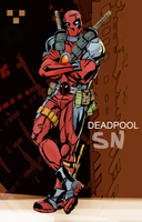 Deadpool by AdaptableSimon