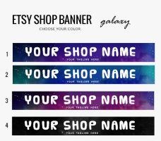 Etsy Banner- Galaxy by candypow