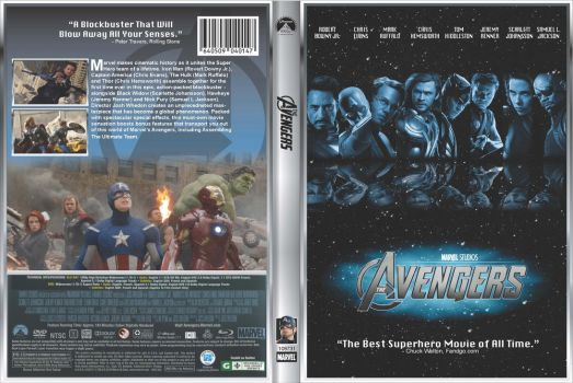 Avengers DVD Cover by MonicaJohnson0647