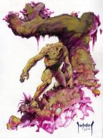 Swamp Thing by Dubisch