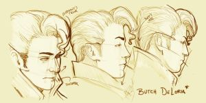 Butch Sketches by TwoToneFools