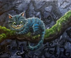 Cheshire cat by Moon-wraith-x