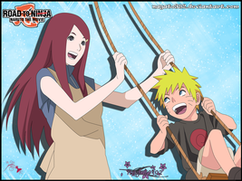 Kushina and Naruto by nagato392