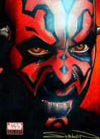 Star Wars Galaxy - Maul by RandySiplon