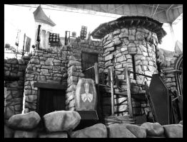 BW: Beetlejuice Revue Stage by Astranyx