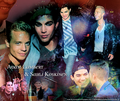 Happy Anniversary Adam and Sauli by MelissaPhotography