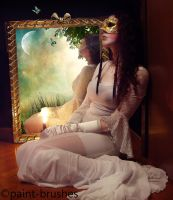 Mirror your Fantasy by paint-brushes