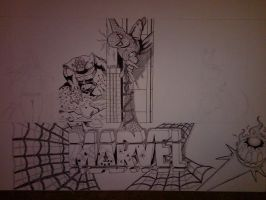 Marvel Project Update 4 WIP by DamCee