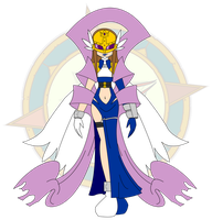 Digimon Empress AngiKarimon by Dragon-FangX