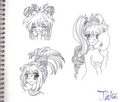 Hairstyles by ReLina009