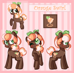 Orange Swirl: Reference by Orange-Dreamsicle