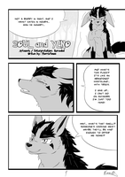 Soul and Yeno Page 1 by KuroodoD