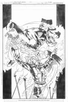 IRREDEEMABLE 27 Cover pencils by DrewEdwardJohnson