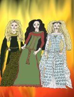 Middle Earth's Angels by drumgirl