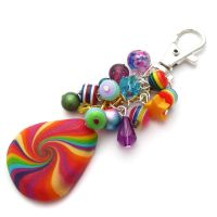 Rainbow Bag Charm by fairy-cakes