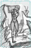 WIP_GothChick by MissKeith